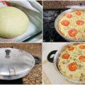 Pizza marguerita sem forno